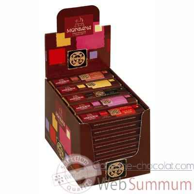 Pack 30 barres chocolatees Monbana -11910059