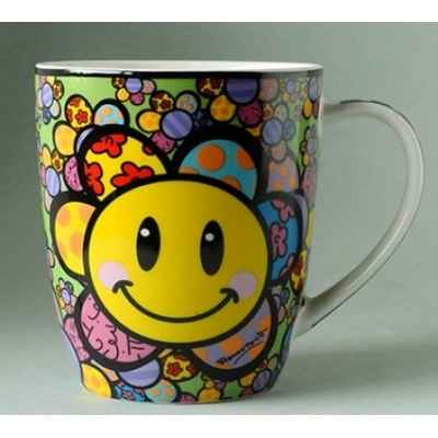 Mug emotions flower britto romero -b334437