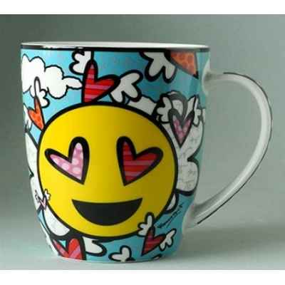 Mug emotions love britto romero -b334436