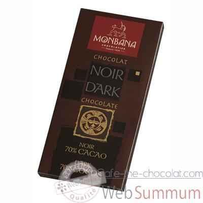 pr sentoir 12 tablettes chocolat noir 70 monbana 11910004 dans tablette de chocolat. Black Bedroom Furniture Sets. Home Design Ideas