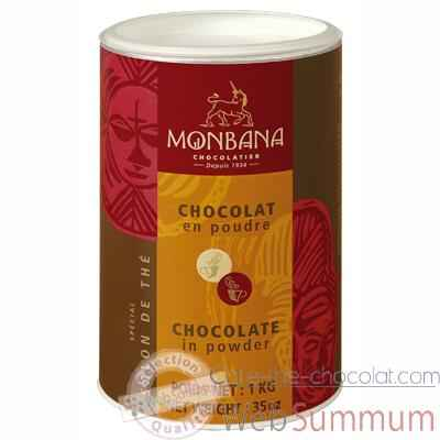 Video Boite chocolat en poudre Special Salon de The Monbana -121M004
