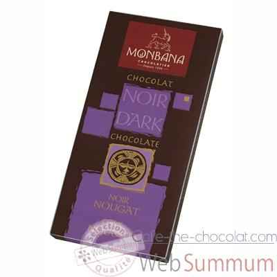 Video Presentoir 12 tablettes chocolat noir nougat -11910006