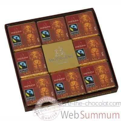 Coffret Collection de 18 Napolitains lait Monbana -11140376