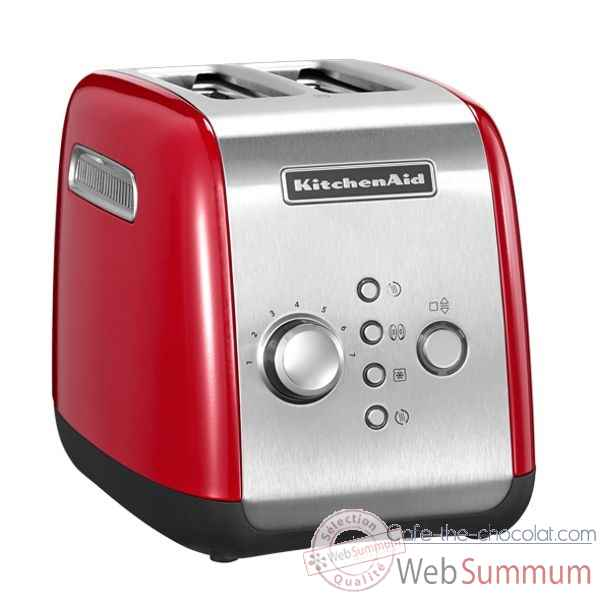 Kitchenaid toaster 2 tranches rouge empire Cuisine -120400