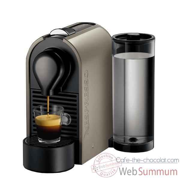 krups nespresso 39 u 39 m130 grey cuisine dans machine caf sur cafe the chocolat. Black Bedroom Furniture Sets. Home Design Ideas