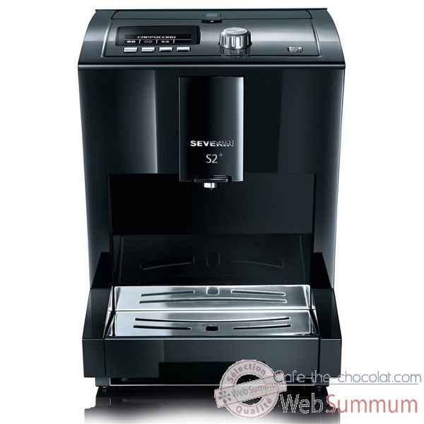 Severin cafetiere expresso noir brillant - s2 one touch Cuisine -12057