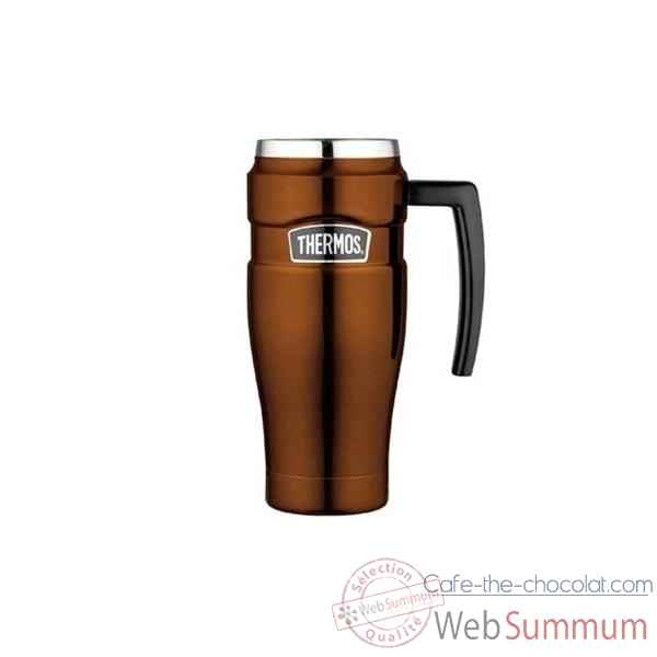 thermos travel mug isolant 0 5 l king 006776 de cuisine. Black Bedroom Furniture Sets. Home Design Ideas