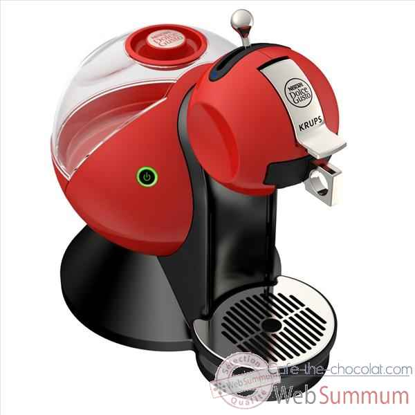 Krups cafetiere rouge - dolce gusto melody 679894