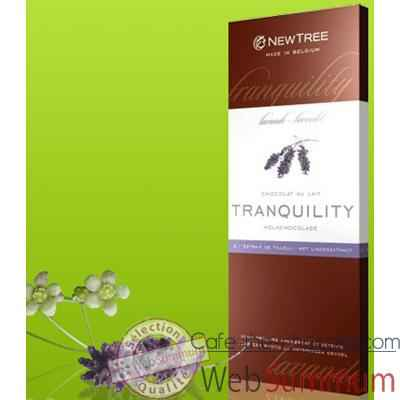 Video Newtree-Chocolat Lait Tranquility Lavande, tablette 80g-340159