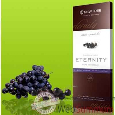 Video Newtree-Chocolat Noir Eternity Cassis, tablette 80g-340135