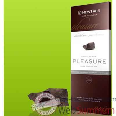 Newtree-Chocolat Noir Pleasure 73 %, tablette 80g-340 111