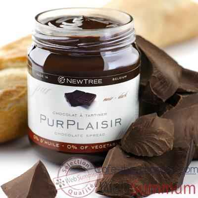 Newtree-Chocolat à tartiner Pur Plaisir, pot de 250 g - 341057